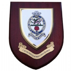 1st Bn Princess of Wales Royal Regiment Military Wall Plaque